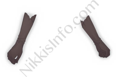 Silk Gloves·Brown