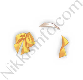 Bowknot Hairpin·Yellow
