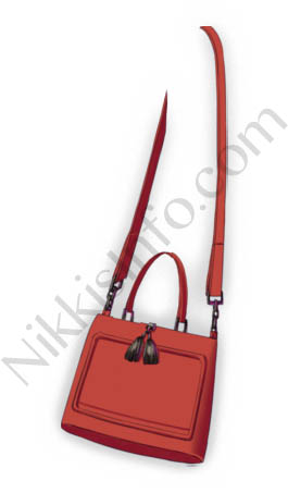 Tassel Handbag·Red