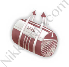 Barrel Sports Bag·Red