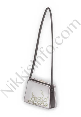 White Collar Bag