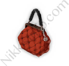 Plaid Bag·Red