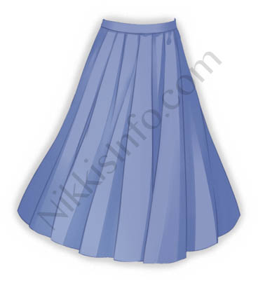 Skirt of Sailor Suit