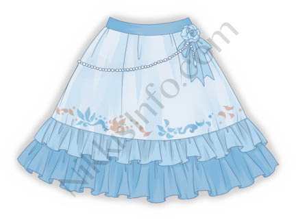 Blue Purity·Skirt