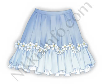 Devout Flower·Skirt