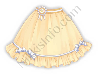 Cicada Skirt·Yellow
