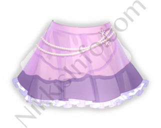 Pearl Skirt·Purple