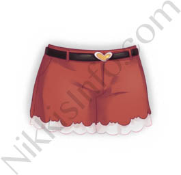 Decorative Shorts·Red
