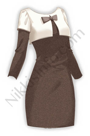 Ladies's Dress·Brown