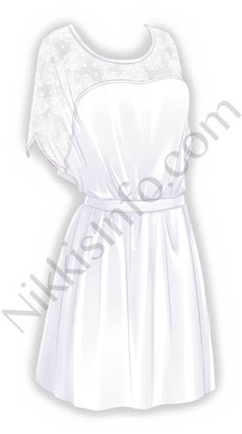Hollow Dress·White