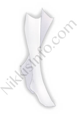 Knee Stockings·White