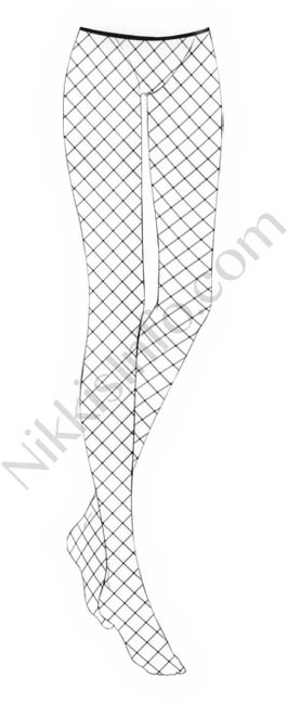 Large Fishnet Socks