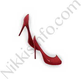 Leather High Heels·Red