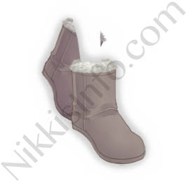 Short Snow Boots·Gray