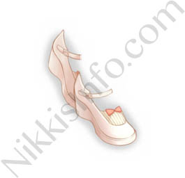 Doll Shoes·White