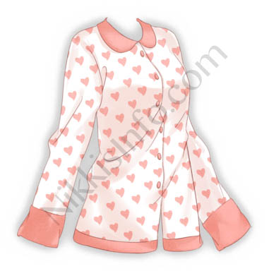 Heart Pajamas·Top